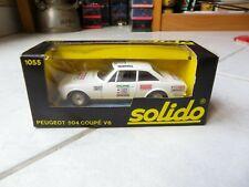Peugeot 504 Coupé 1055 Solido 1/43 Miniature avec boite
