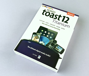 Roxio Toast 12 Titanium w/ Live Screen Recording - Model RTOT12MLMBAM #4918