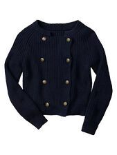 NWT Gap Kids #10 Girls Military Cardigan Sweater SZ M Medium 8 NEW BTS School