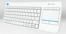 Tastiera Logitech Cordless K400 PLUS Whi Touch Pad USB 920-007136