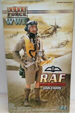 WWII ELITE FORCE BBI BRITISH RAF DESERT FIGHTER PILOT 1/6 FIGURE DID DRAGON