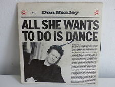 DON HENLEY All she wants to do is dance A6137