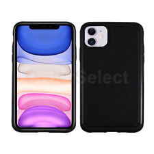 B2G1 Free Hybrid Shockproof Rugged Rubber Case Cover for Apple iPhone 11 Black