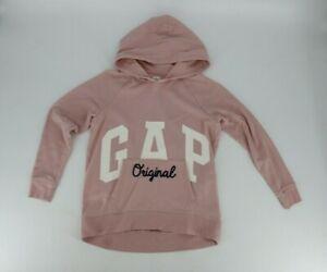 Gap Kids Big Girls Original Oversize Hoodie Sweatshirt Sz Large (10) Light Pink