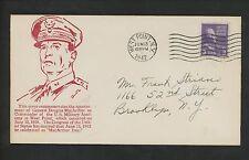 US Postal History Comm Military Army MacArthur Academy 6/13/1942 West Point NY