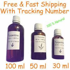 trementina 100 % natural sin aditivos resina de pino Pure Gum Spirits 30-500 ml