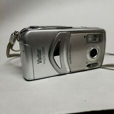 Vivitar ViviCam 5100 5.0MP Digital Camera - Silver