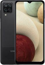 NEW Samsung Galaxy A12 6.5'' 4G Smartphone 64GB Dual-Sim Unlocked - Black - BNIB