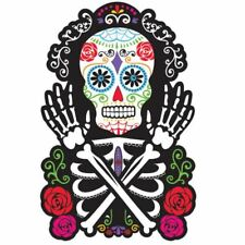 Day of the Dead Cut-outs 38cm Skeleton Halloween Decorations