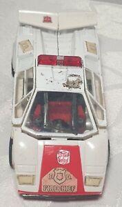 VINTAGE G1 TRANSFORMERS FIRE CHIEF LAMBORGHINI HASBRO / TAKARA 1980-1982