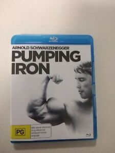 Pumping Iron Bluray - OUT OF PRINT - RARE - Arnold Schwarzenegger