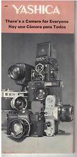 Vintage 1960s  Yashika Camera Brochure many models