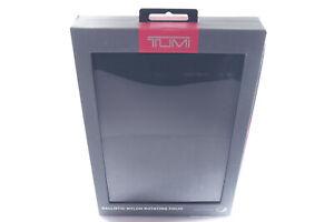 TUMI Ballistic Rotating Folio Case Cover For Apple IPad Mini 4 - Nylon Black