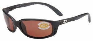 COSTA C-Mates Readers Sunglasses BRINE Copper /Brown 580P +2.00, Matte Black