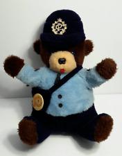 "Vintage 1986 Canada Post Montreal Plush Stuffed Teddy Bear 16"""