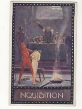 E Kutzer Inquisition Vintage Art Postcard Austria US094
