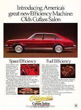 1979 Oldsmobile Cutlass Salon Original Advertisement Print Art Car Ad J653