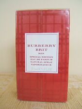 BURBERRY BRIT RED SPECIAL EDITION 30ML EDP NEW AND CELLOPHANE SEALED - RARE