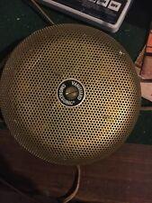 VTG Vanguard SmokeSonic GOLD -  Mid Century Electric Smoke Fire Alarm - USA
