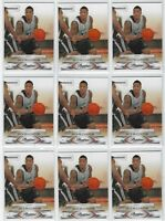 "(22)ct 09/10 PRESTIGE JACK McCLINTON ""ROOKIE"" RC LOT! SAN ANTONIO SPURS/MIAMI"