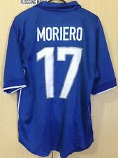MORIERO ITALY WORLD CUP 1998 HOME NIKE FOOTBALL SOCCER JERSEY SHIRT M VTG MAGLIA