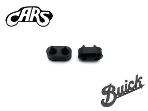 1955-1990 Buick Rubber Front Door Bumpers Stops Jamb | Set of 2