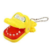Kids Children Crocodile Mouth Dentist Bite Finger Game Toy Funny Gift With Chain