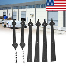 Garage Door Carriage House Decorative 6Pcs/Set Hinge Handle Door Accessories
