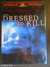 DRESSED TO KILL movie DVD UNRATED Angie Dickinson NUDE Nancy Allen NAKED OOP