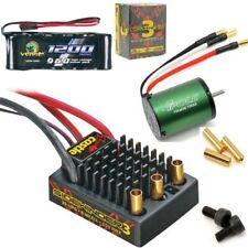 Castle Creations 1/10 SV3 Sidewinder ESC WP 7700kv Motor + Venom Flat Battery