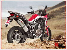 AKRAPOVIC EXHAUST SCARICO TERMINALE HONDA CRF1000L AFRICA TWIN S-H10SO15-HWT