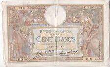 BILLET DE 100 FRANCS LUC OLIVIER MERSON.  1932  236