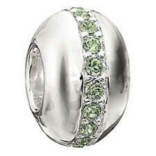 Authentic NEW Chamilia Sterling Silver & Peridot Wink Bead 2083-0246-RETIRED!