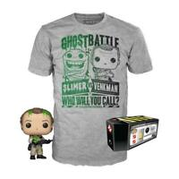 Ghostbusters POP! & Tee Vinyl Figur & T-Shirt (L) Set Dr. Peter Venkman Exclusiv