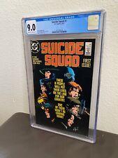 Suicide Squad #1 CGC 9.0 DC Comics 1987 5/87