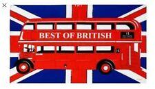 London  Double Decker Red Bus 100% Cotton Tea Towel Souvenir Gift