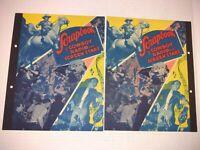 Vintage Dixie Ice Cream Premium Scrapbook Of Cowboy Radio & Screen Stars COVERS