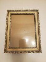 Vintage Traditional Carved Two Tone Artwork Painting Picture Frame Gold