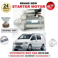 FOR MERCEDES BENZ VITO MIXTO BOX VAN STARTER MOTOR 2010-> 110 113 116 CDi 4x4