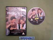 MUSIC AND LETRAS DE / HUGH GRANT DIBUJÓ BARRYMORE / IDIOMAS ENGLISH / DVD