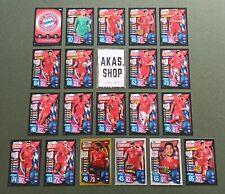 FC Bayern München MEGA TEAM SET Match Attax Champions League 2019 2020 20 Karten