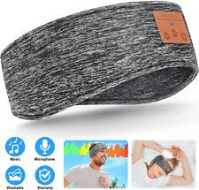 Sleep Headphones Upgraded Bluetooth Headband, Wireless 5.0 Sports Headband Headp