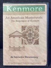 Kenmore An American Masterwork The Restoration of Kenmore DVD NEW Documentary