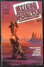 Alien Worlds #1  Dec 1982  Pacific Comics  Al Williamson Art
