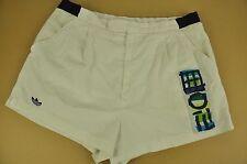 """De colección años 80 Adidas Stefan Pancho Pantalones Cortos De Tenis-golf Glanz - 36"""" #2723"""