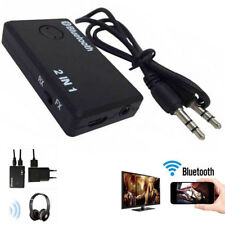 2 in 1 Wireless Bluetooth Transmitter A2DP Receiver Stereo Audio Musik Adapter