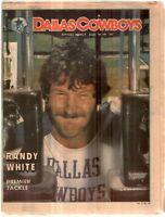 Dallas Cowboys Weekly Newspaper August 18, 1979 Premier Tackle Randy White G