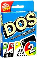 UNO DOS CARD GAME Great Family Fun For Children Friend Travel Party UK Seller
