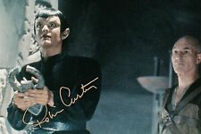 "OFFICIAL WEBSITE Robin Curtis as Tallera in STAR TREK ""Gambit"" 8x10 AUTOGRAPHED"