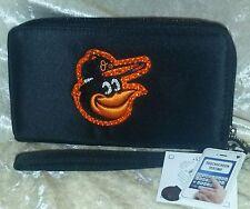 Baltimore Orioles Bling Wristlet Cell Phone Wallet Rhinestone MLB Licensed!